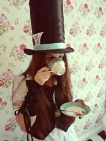 Mad Hatter Cosplay by Bella-Anima