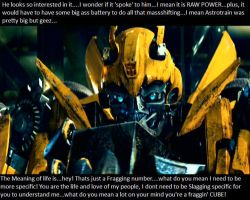 Poor Bumblebee: 2007 TF part 2 by LotteBubbles