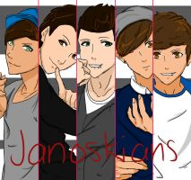 The Janoskians by xosakixo97