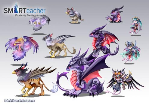 Prodigy Air Monsters by Dragolisco