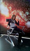 Shepard At Comic Con-Illusive by RebelATS