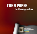 Torn Paper for Covergloobus by leonardomdq