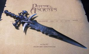 World of Warcraft Frostmourne by kiritosword