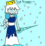 Ice Princess! by Ask-Flamespawn