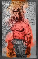 hellboy by tomasoverbai