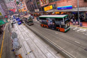 Hong Kong Transport by fayerman