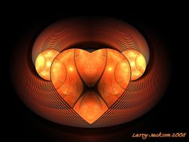 Art Deco Heart by Actionjack52