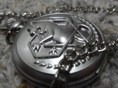 Ed's Pocketwatch Outside by Sora-Horsey