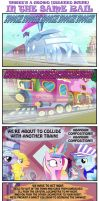 IN THE SAME RAIL. by INVISIBLEGUY-PONYMAN