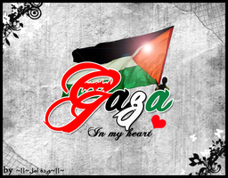 gaza in my heart by wardet2ml