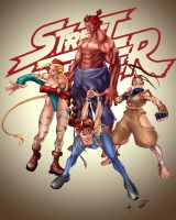 Street Fighter Combo Colored by maehao
