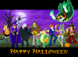 C009: Happy Halloween by Schreibaby-Zephyr