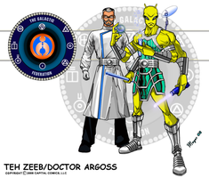 Teh Zeeb-Doctor Argoss by skywarp-2