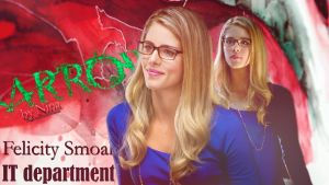 Felicity Smoak IT Department by BloodyMary-NINA