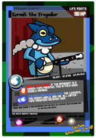 No. 657: Kermit the Frogadier by rawrkittens