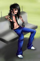 Andy Biersack finished by WTFmoments