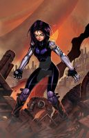 Battle Angel Alita by olivernome