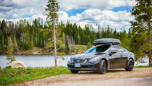 Infiniti G37x Coupe at Steamboat Lake by jbkalla