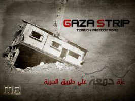 gaza strip by REDFLOOD