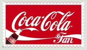 Coca-Cola Fan Stamp - Stamp by darkyoshi973