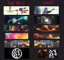 Tag Wall No.7 by zesk8