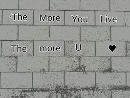 The More You Live The More U Love by JQuangTrung