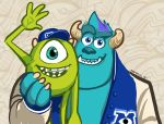 Monsters University Draw Something Ad by Pinkuh
