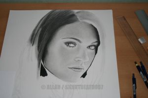 :MEGAN FOX WIP III: by Angelstorm-82