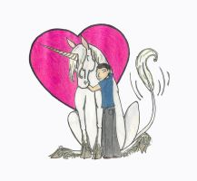 Stephen Loves Unicorns by spiderling00