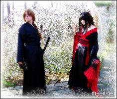 Death Note Geisha: LxL Garden by Maru-Light