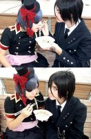Sebastian- Lady and the tramp. by CharmingYuuta