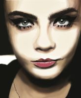 Cara Delevingne by Whilewereflawless