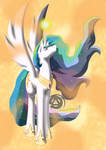 Celestia - Goddess of the Sun by ErinKarsath