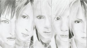 Alice nine by Tsukiko-chan09