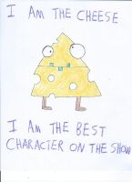 The Cheese Drawing by NickelodeonLover