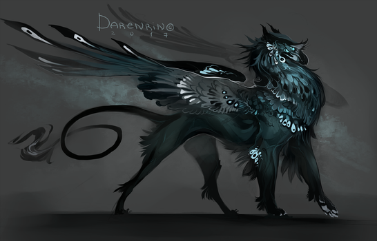 gryphon by Darenrin