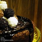 Truffle Tower Mud Cake by cakecrumbs
