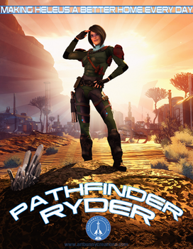 Pathfinder Ryder by KaanaMoonshadow