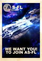 AS-FL Recruitment Poster, Constellation by KaeKru