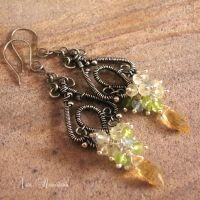 Lime Juice Earrings by Astukee