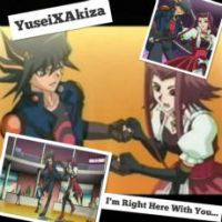 YuseiXAkiza Wallpaper: I'm Right here With You by XxXxRedRosexXxX