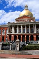 Massachusetts State House 1 by dpierce1313