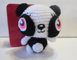 ShiShi the Moshi Monster Panda by Tiffamis