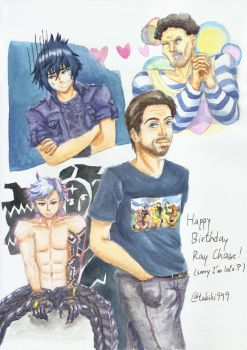 A Birthday Pic for Ray Chase by tabiki999