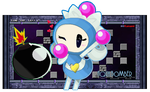 Super Bomberman R - Aqua Bomber by FierceTheBandit
