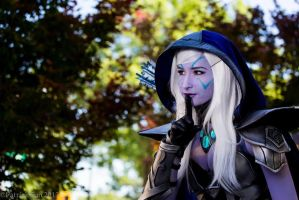 Drow Ranger (Traxex) from DotA 2 by littlekiddens