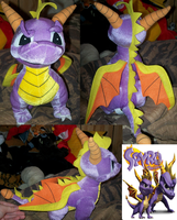 Spyro the dragon by Kitrei-Sirto