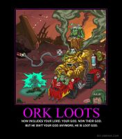 Ork Loots by KhaotixDemon