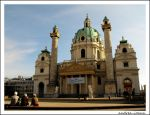 St. Charles's Church Vienna by andrea-ioana