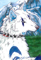 Tundra Guardain ACEO by Sessko
